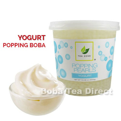 Yogurt Popping Bursting Boba