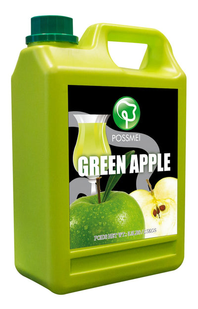 Green Apple Boba Bubble Tea Syrup