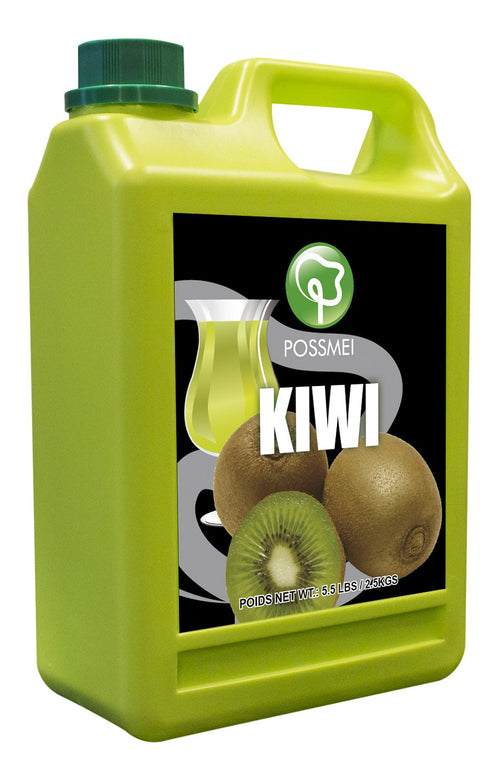 Kiwi Boba Bubble Tea Syrup