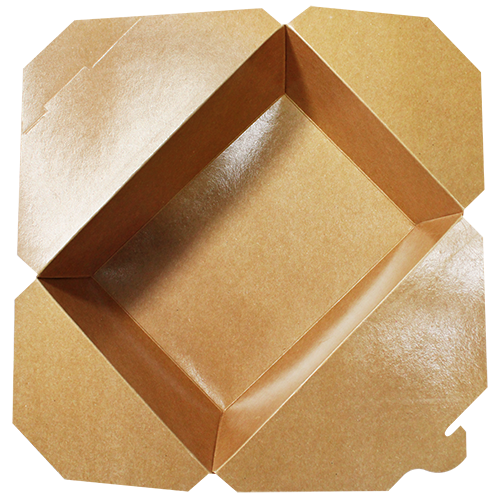 Brown Fold-To-Go Box (110oz)
