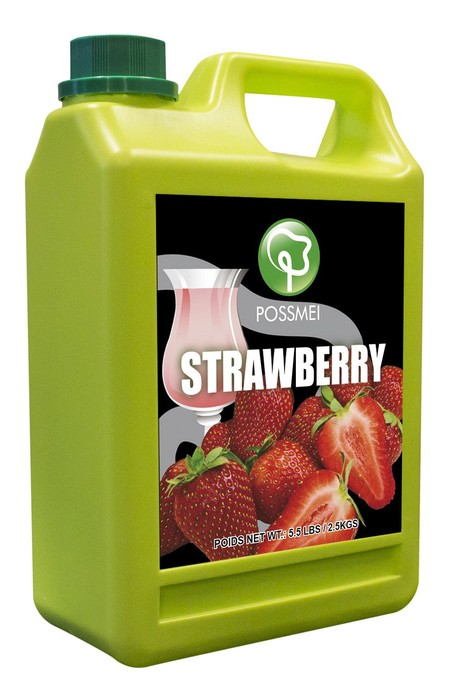 Strawberry Boba Bubble Tea Syrup | Shop Popping Bobas and ...