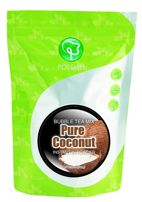 Pure Coconut Boba Bubble Tea Powder Mix