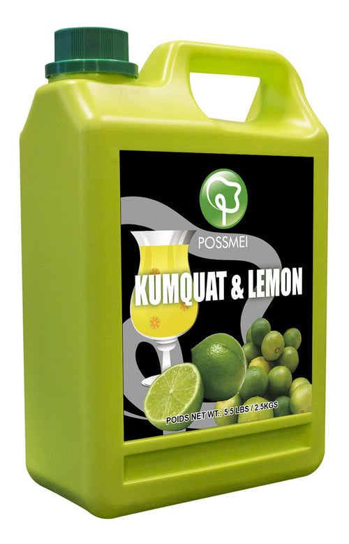 Kumquat/Lemon Boba Bubble Tea Syrup
