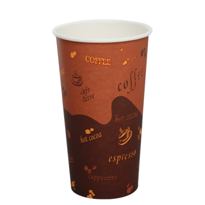 20oz Paper Hot Cups – Generic (90mm)