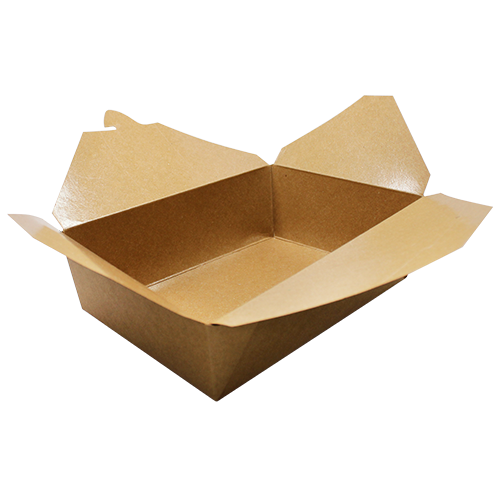 Brown Fold-To-Go Box #3 (76oz)