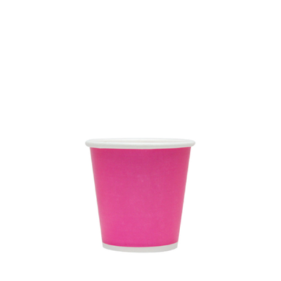 2oz Hot/Cold Paper Food Containers – Pink (51mm)
