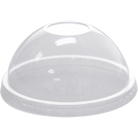 98mm PET Dome Lids-Wide Opening
