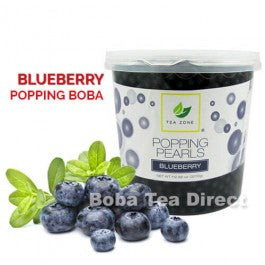 Blueberry Popping Bursting Boba