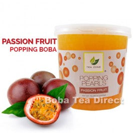 Passion Fruit Popping Bursting Boba