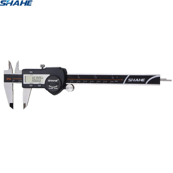 Stainless steel   IP54 Waterproof digital vernier caliper (0-150 mm)