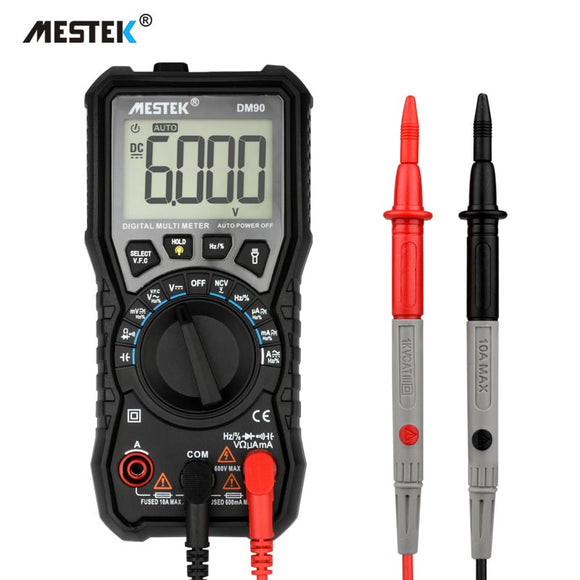 MESTEK DM90 mini  digital multimeter auto range tester