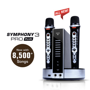 GRAND VIDEOKE Symphony 3 Pro Plus (TKR-373MP+)