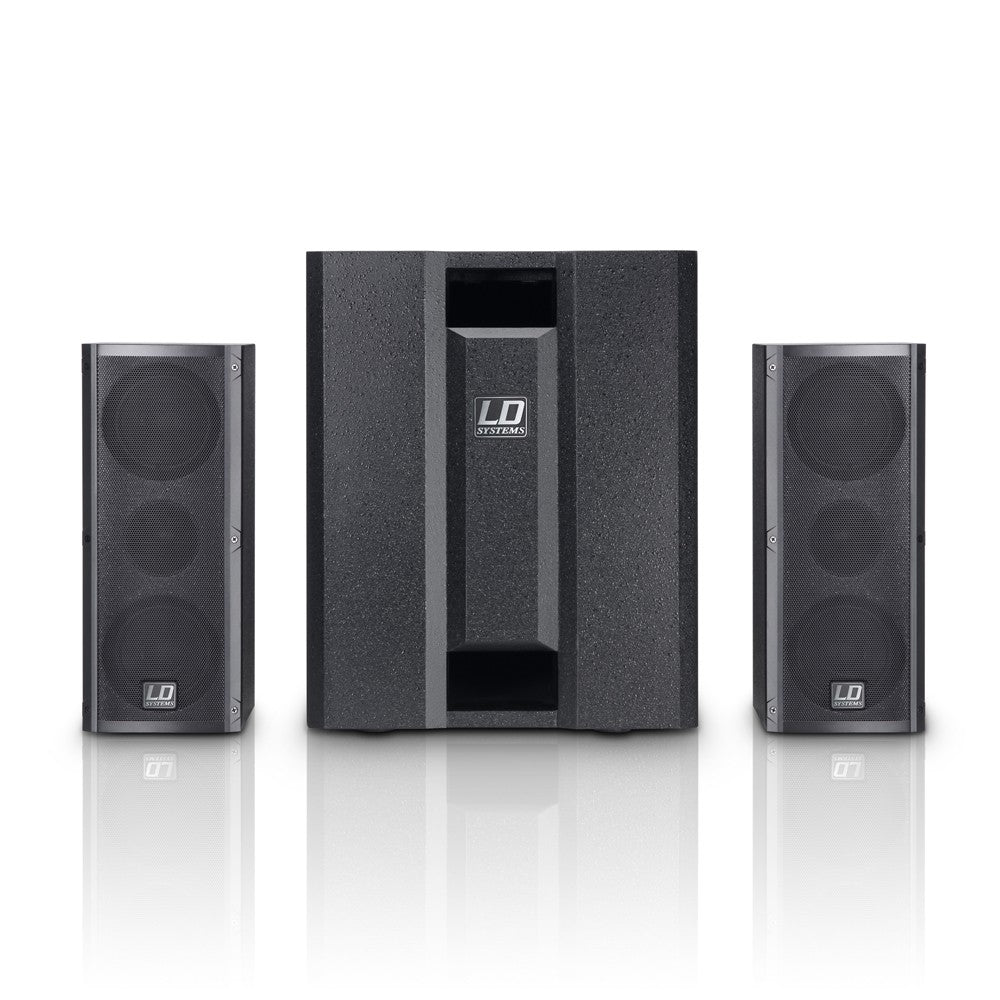 LD Systems DAVE 8 Roadie (Black)
