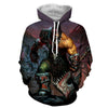 World of warcraft - Grommash Hellscream 2 : Printed Hoodie - Anime Wise