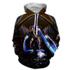 Mass Effect - Project Phoenix Vanguard Printed Hoodie - Anime Wise