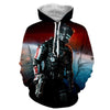 Mass Effect - Commander Shepard N7 Armor  Printed Hoodie - Anime Wise