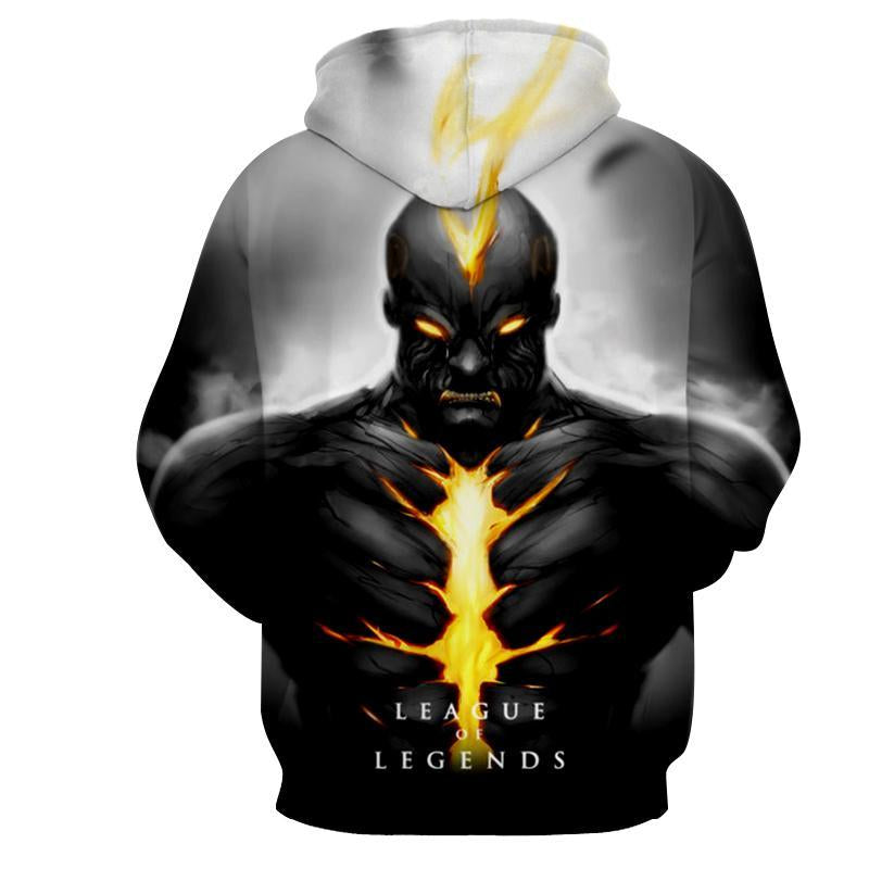 League Of Legends- Brand : Printed Hoodie - Anime Wise