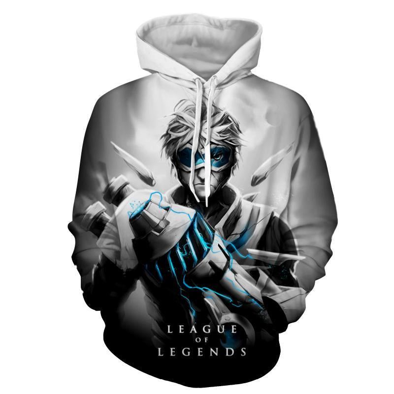 League Of Legends- Pulsefire Ezreal : Printed Hoodie