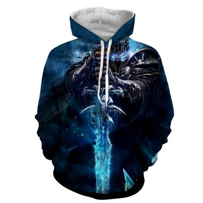 World of Warcraft - Lich King : Printed Hoodie
