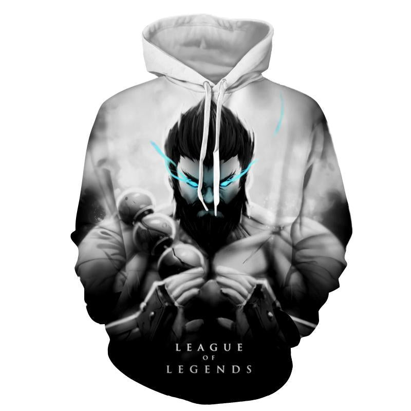 League Of Legends- Udyr : Printed Hoodie