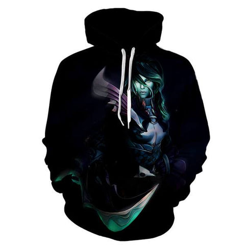Phantom Assassin Hoodies - Toll of the Fearful Aria Phantom Assassin Hoodie