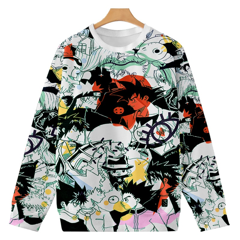 All Manga Legends Premium Color Fusion Anime Sweatshirt