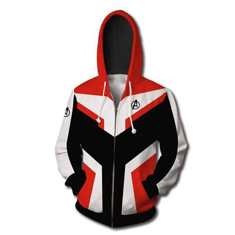 Avengers Endgame Style New Trend Avengers Zip Up Hoodie