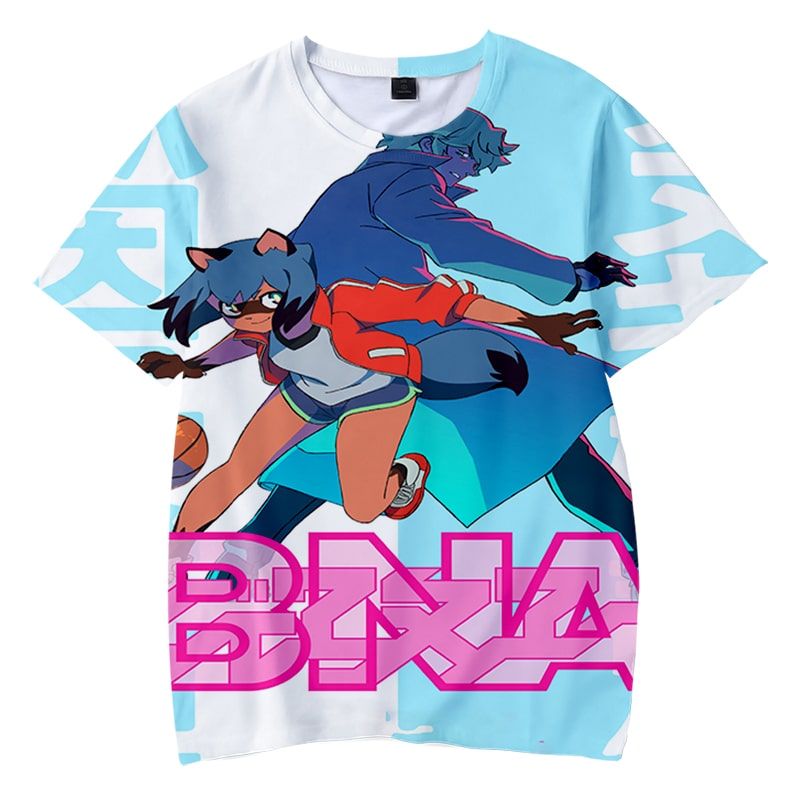 BNA Basket Ball Seamless Colors Brand New Animal T-Shirt