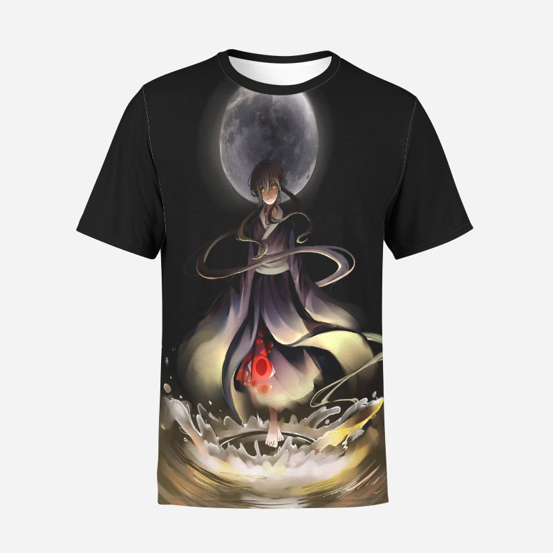 Baam Jyu Viole Grace Casual Round Collar Tower of God T-Shirt