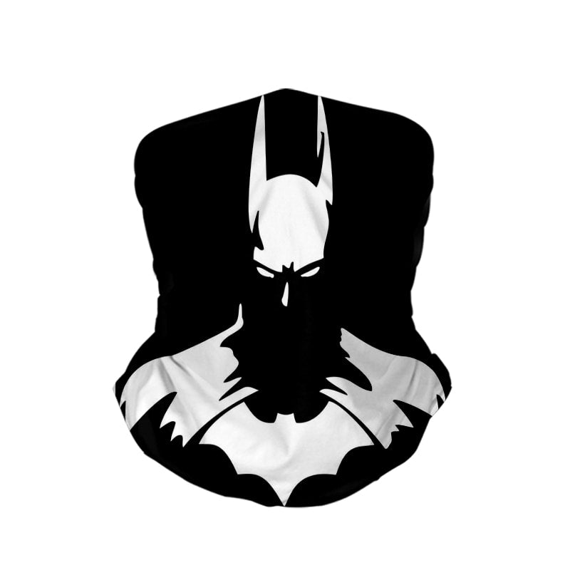 Batman Dark Sketch Neck Gaiter Face Shield Bandanna Scarf