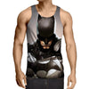 Batman Regrets 3D Printed Batman Tank Top - Anime Wise