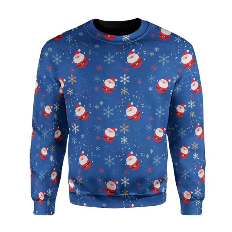 Christmas Santa Lights Minions Cool X-Mas Sweatshirt