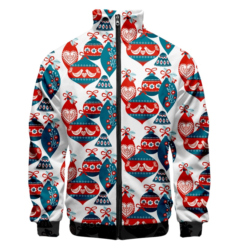 Christmas Scandinavian Cultural Style Cool Christmas Sweatshirt Jacket
