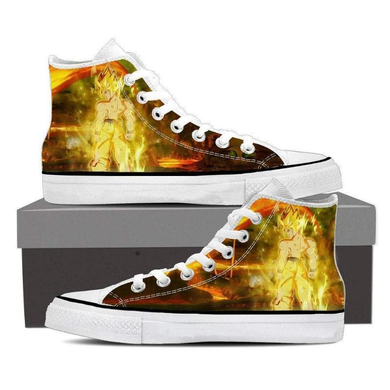 Super Saiyan Anime SSJ Super Saiyan Goku Shoes - Anime Wise