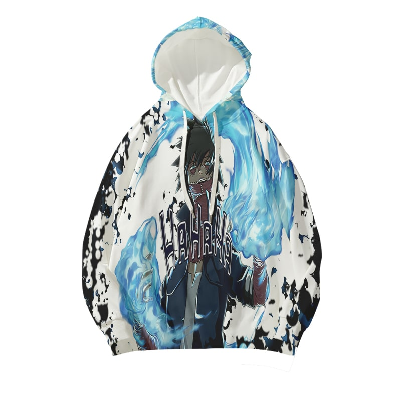 Dabi On Fire League Of Villains Gothic Hipster Style My Hero Academia Hoodie