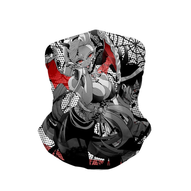 Daki Gyuutarou Demon Web Demon Slayer Kimetsu no Yaiba Neck Gaiter Face Shield Bandanna Scarf