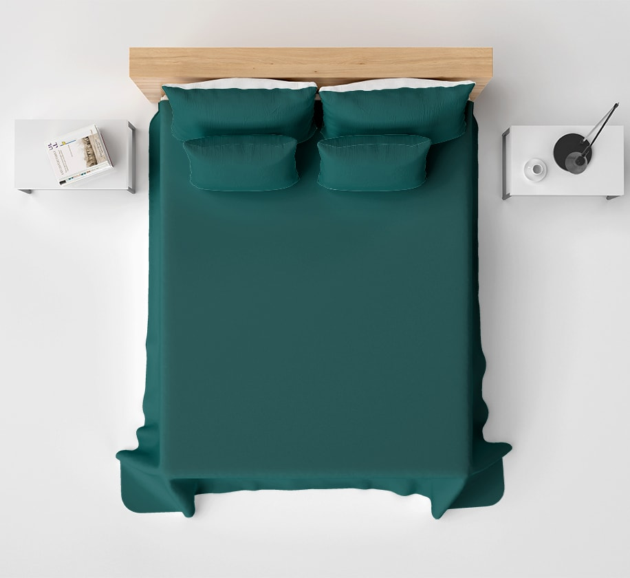 Solid Color Dark Green High Quality Sheet