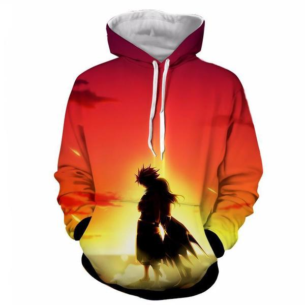 Dragon Son Natsu Dragneel Etherious Light  Fairy Tail Hoodie