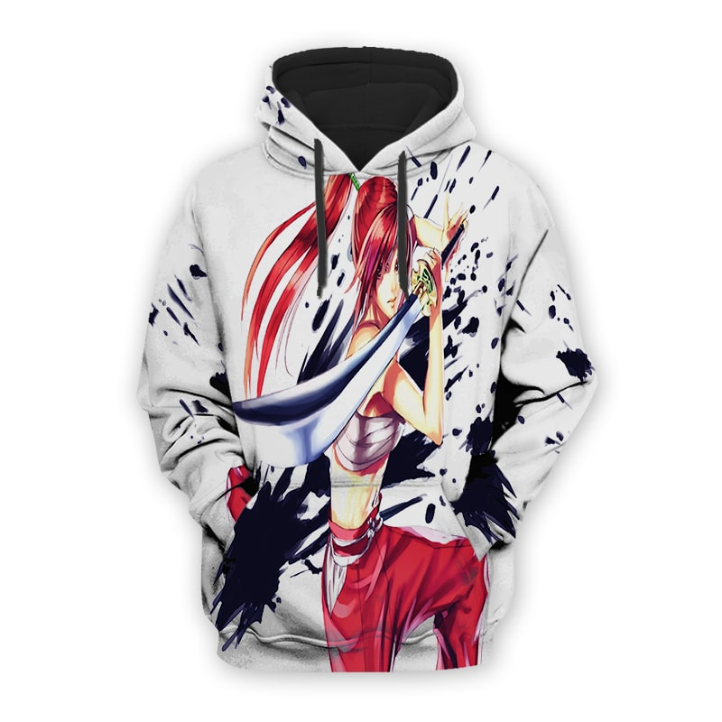 Erza Scarlet Armor Fairy Tail Hoodie