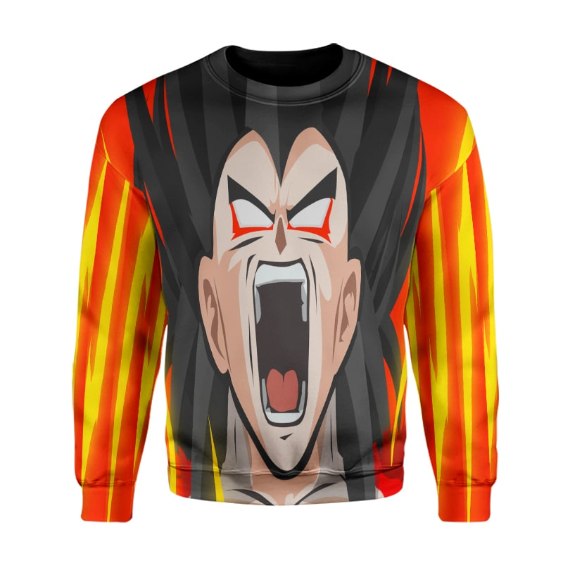 Evil Goku SSJ5 Flash Color Crossover Dragon Ball Super Sweatshirt