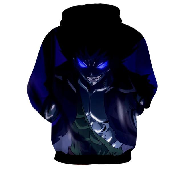 Fairy Tail Iron Dragon Gajeel Fairy Tail Hoodie - Anime Wise