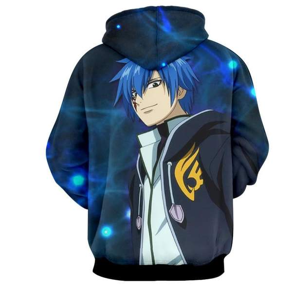 Fairy Tail Jellal Crime Sorciere Fairy Tail Hoodie - Anime Wise