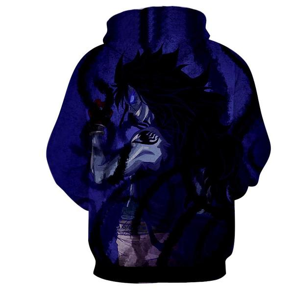 Fairy Tail Shadow Dragon Gajeel Fairy Tail Hoodie - Anime Wise