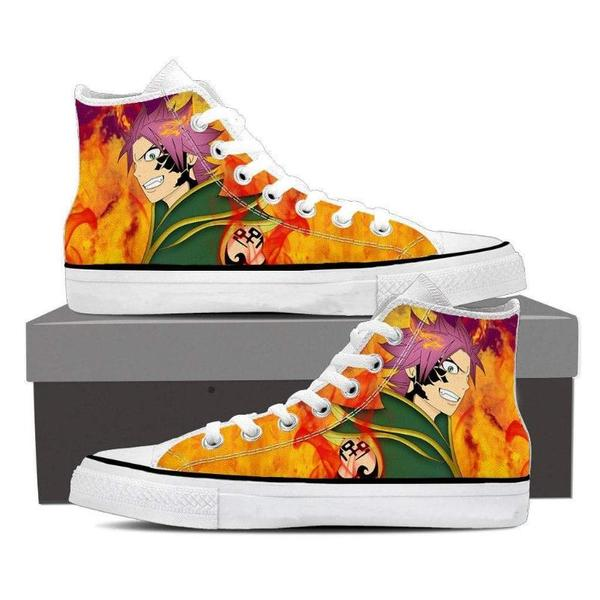 Natsu Dragneel Pirate Magnolia Customized  Fairy Tail Sneaker Shoes - Anime Wise
