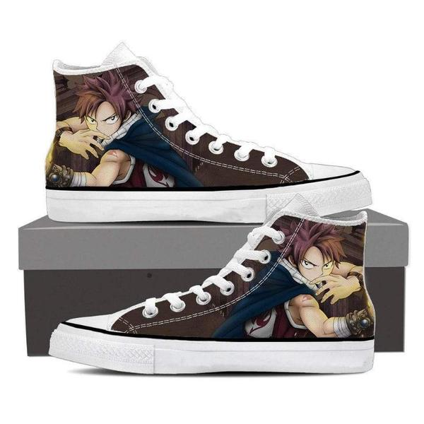Ninja Style Natsu Converse Unisex 3D Printed Fairy Tail Shoes - Anime Wise