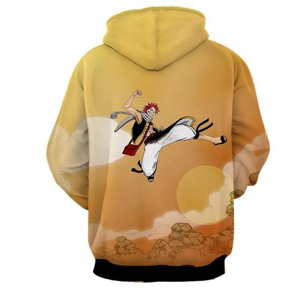 Natsu Dragneel Designed Air 3D Printed Hoodie - Anime Wise
