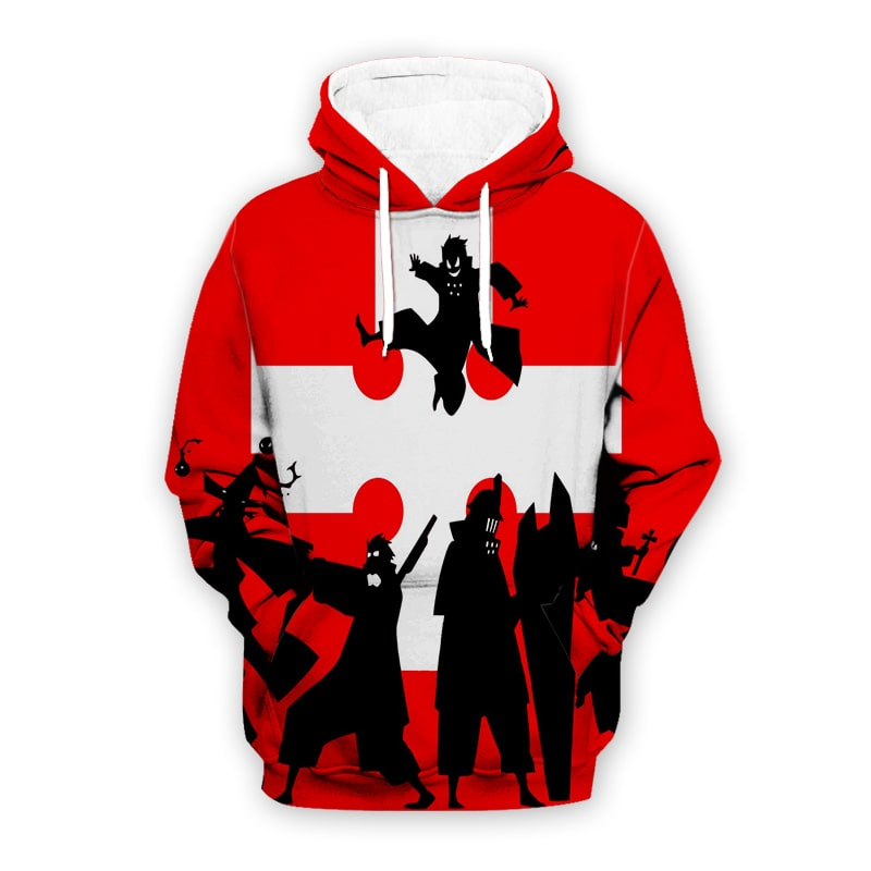 Fire Force Cross Fight Style Cool Fire Force Hoodie