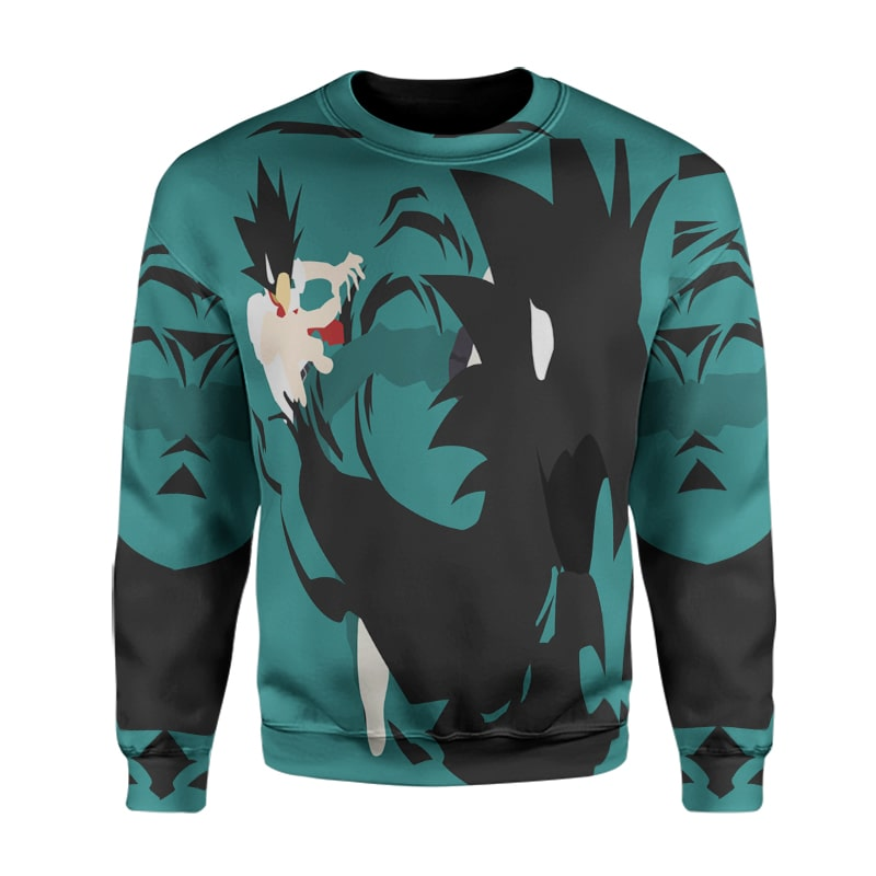 My Hero Academia Fumikage Dark Shadow Attack Crossover Cool BNHA Sweatshirt