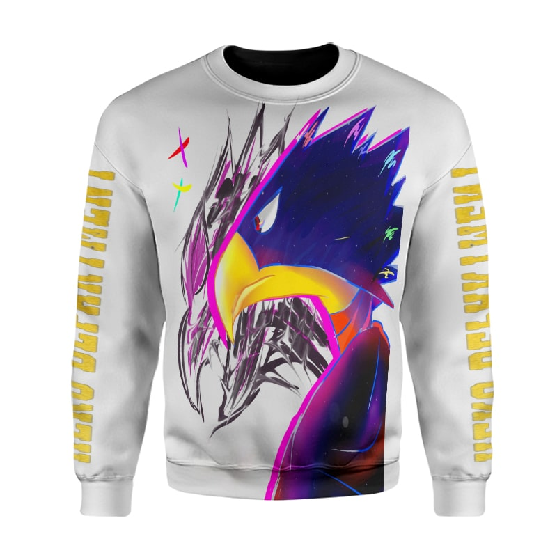 My Hero Academia Fumikage Dark Shadow Coloring  BNHA Sweatshirt