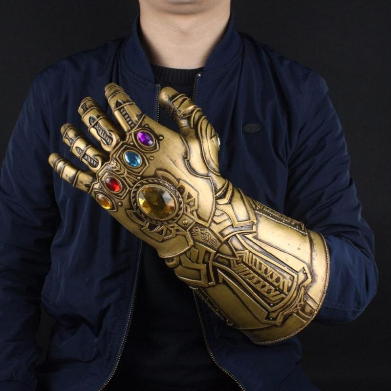 Infinity Stones Embroidered Thanos Infinity War Gauntlet - Anime Wise